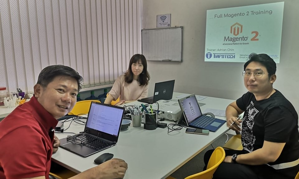 Manage Magento Training Singapore